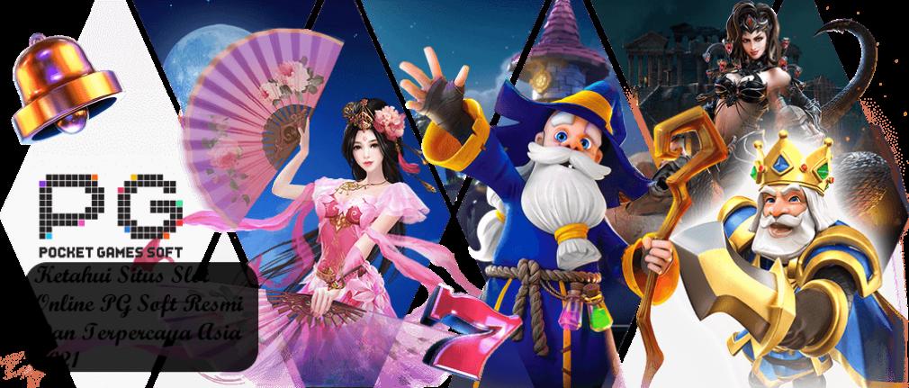 Ketahui Situs Slot Online PG Soft Resmi Dan Terpercaya Asia 2021